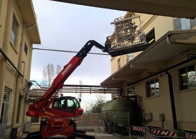 Machine Relocation - Plant Removal