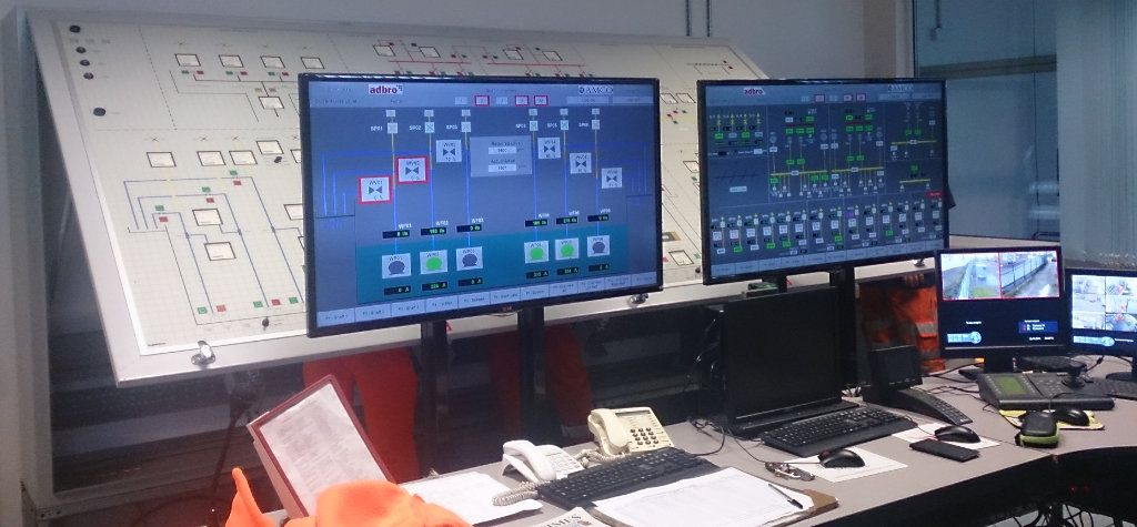 SCADA HMI Interface