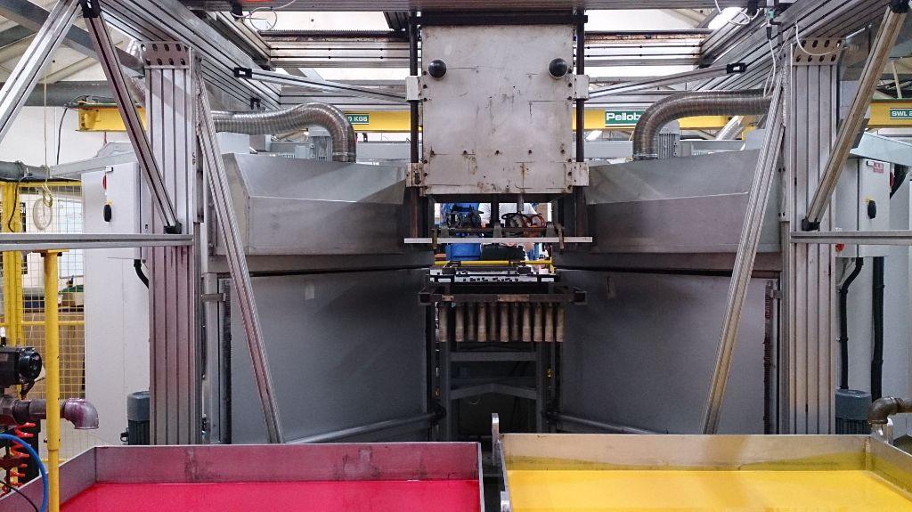Dip machine oven upgrade Integrators
