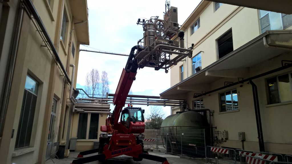 Machinery relocation project