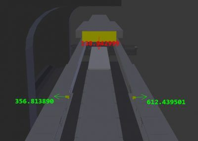 Vision Based Machine Collision Detection