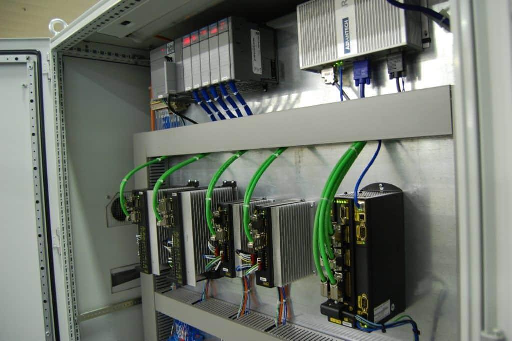 Palletiser Control Panel