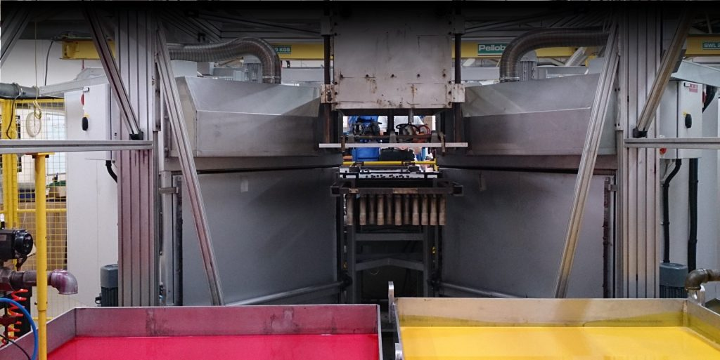 PVC Hot Dip Control System