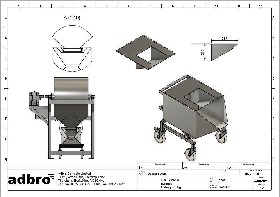 Ball Mill Upgrade CAD