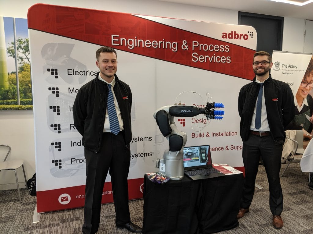 Adbro controls exhibiting at the thames valley expo