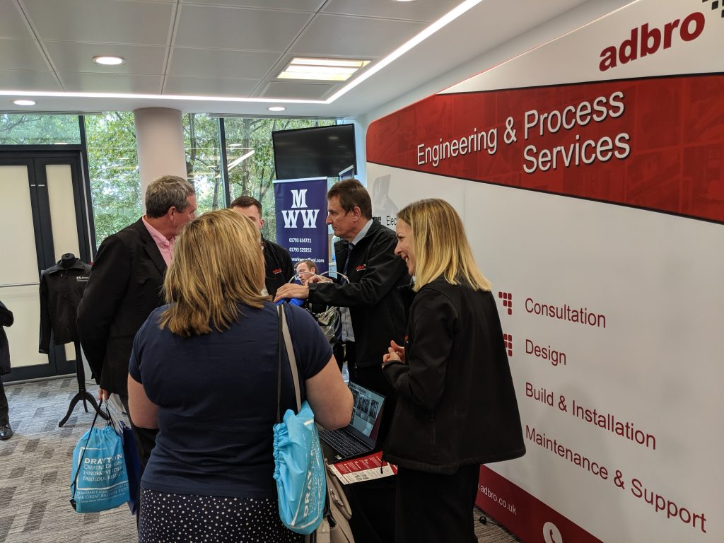 Adbro Controls stand at the thames valley epo