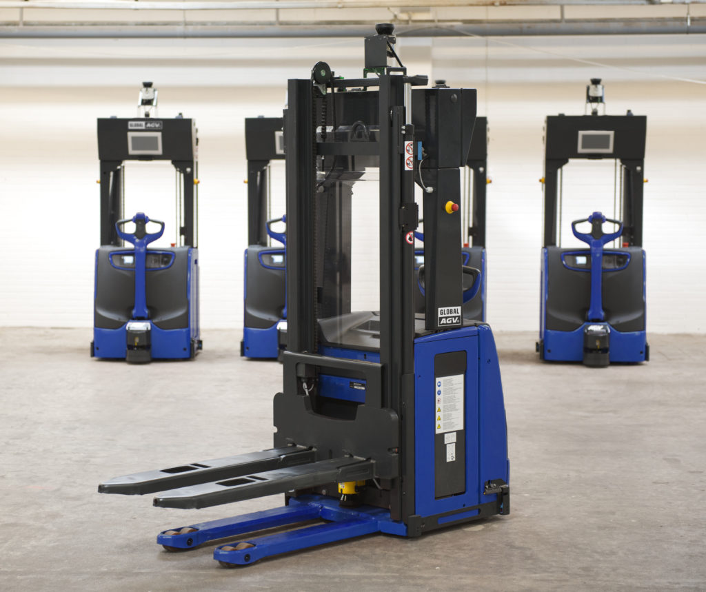global AGV Driverless forklift  Automated guided vehicle
