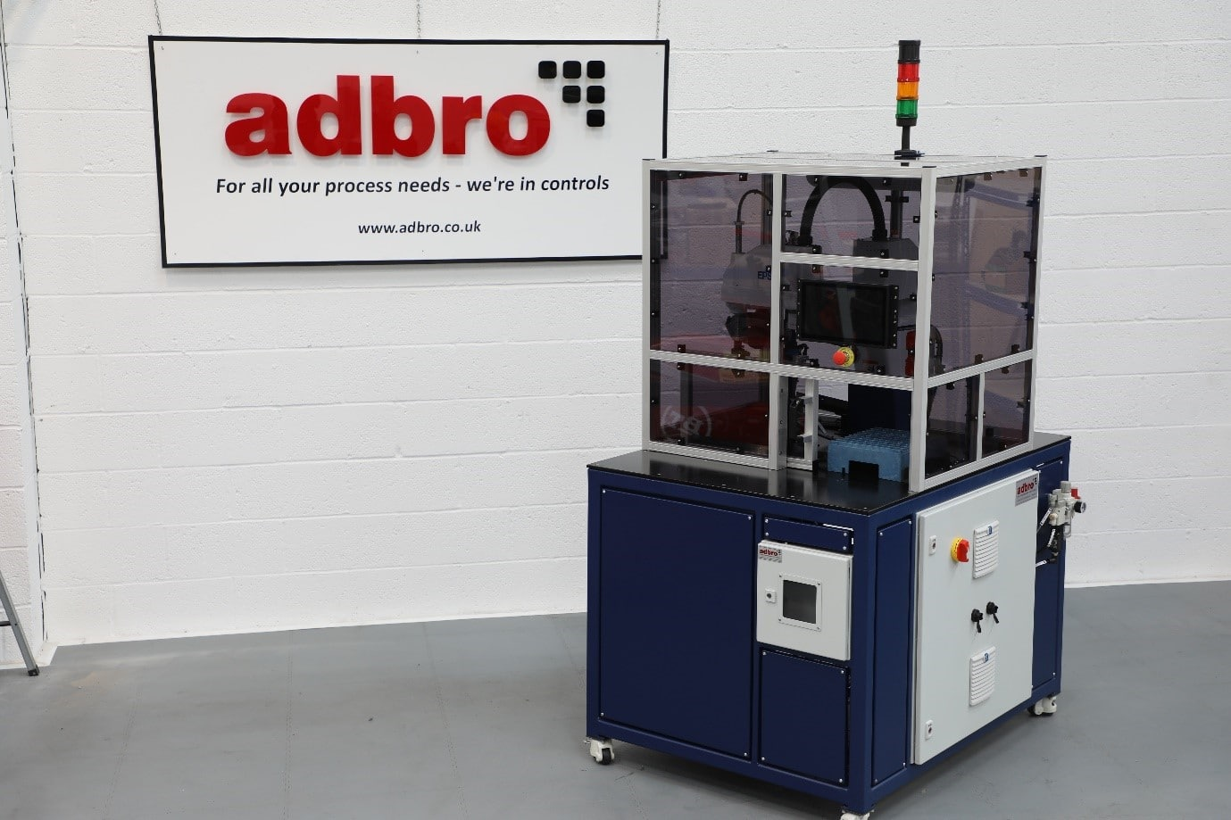 Adbro Controls Detection and Rejection System